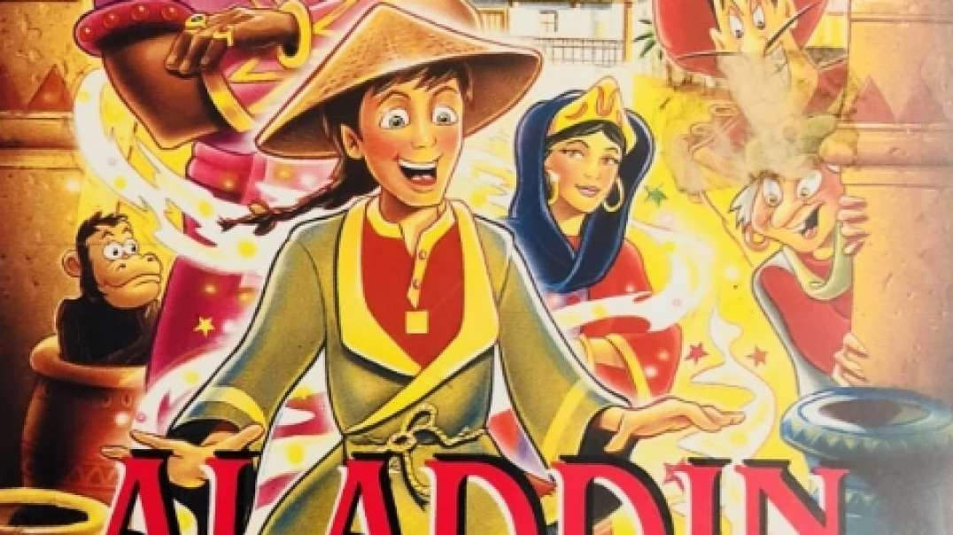 Tecknat Barn Svenska:Aladdin Video (1992) VHSRIPPEN (Svenska) Kärlek (4K)